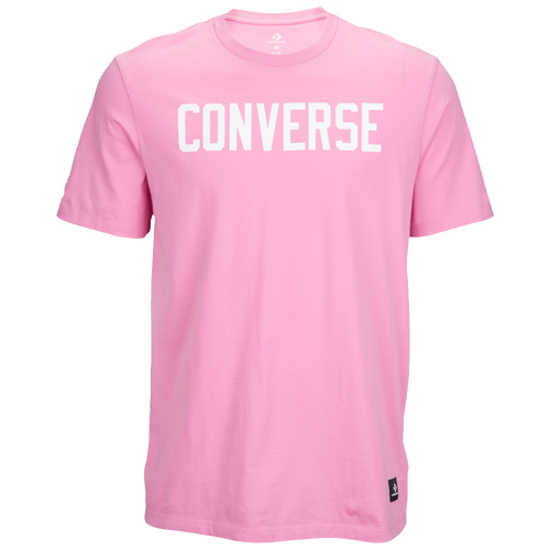 Converse Essentials Graphic S/S T-Shirt - Men's Casual - Light Orchid 5814A05