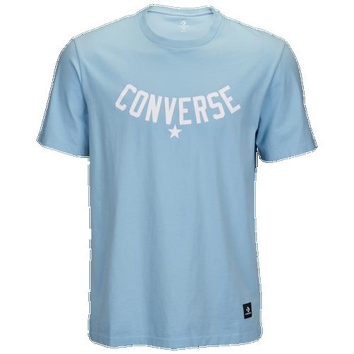 Converse Essentials Graphic S/S T-Shirt - Men's Casual - Ocean Bliss 5821A03