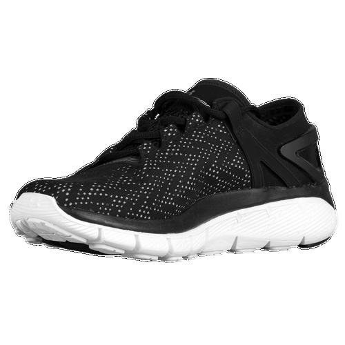 Under Armour Speedform Fortis - Women's - Running - Shoes - Black/White/Metallic  Silver
