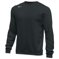 Nike Team Club Crew Fleece - Men's - All Black / Black