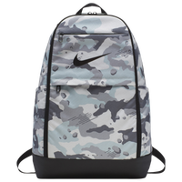 Nike Brasilia X-Large Backpack - White / Grey