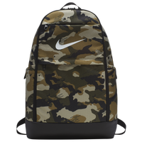 Nike Brasilia X-Large Backpack - Olive Green / Black