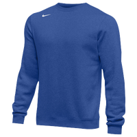 Nike Team Club Crew Fleece - Men's - Blue / Blue
