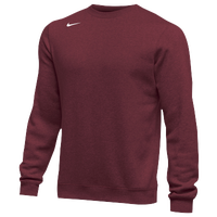 Nike Team Club Crew Fleece - Men's - Cardinal / Cardinal