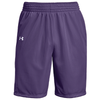 Under Armour Team Triple Double Shorts - Boys' Grade School - Purple