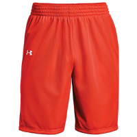 Under Armour Team Triple Double Shorts - Boys' Grade School - Orange