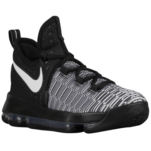 e43fe1205ff1 ... Nike KD 9 - Boys Grade School - Basketball - Shoes - Kevin Durant -  BlackWhite ...