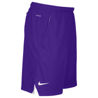 Nike Team Sideline 3 Pocket Knit Shorts - Men's - Purple / White