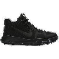 Nike Kyrie 3 - Boys\u0027 Grade School - Kyrie Irving - All Black / Black
