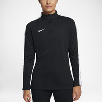 Nike Academy 1/2 Zip Top - Women's - Black / White