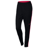 Nike Academy Knit Pants - Women's - Black / Red