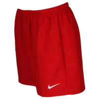 Nike Team Laser Woven Shorts - Women's - Red / Red