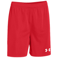 Under Armour Team Golazo Shorts - Men's - Red / Red