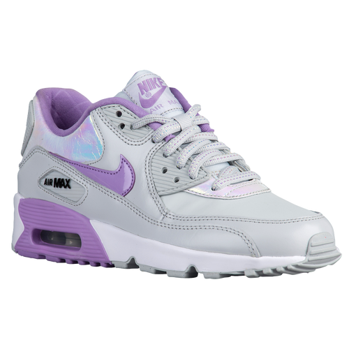 best loved 6147d 220ee ... Pure Platinum Urban Lilac Anthracite White. on sale Nike Air Max 90 -  Girls  Grade School - Running - Shoes -