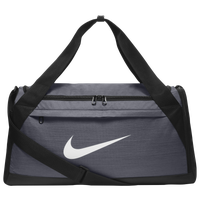Nike Brasilia Small Duffel - Grey / Black