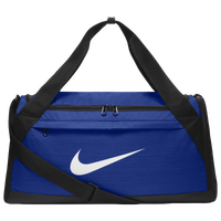 Nike Brasilia Small Duffel - Blue / Black