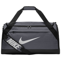 Nike Brasilia Medium Duffel - Grey / Black