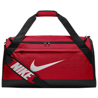 Nike Brasilia Medium Duffel - Red / Black