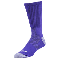 Eastbay EVAPOR Performance Crew Socks - Men's - Purple / Purple
