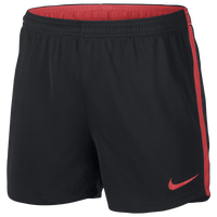 Nike Academy Knit Shorts - Women's - Black / Red