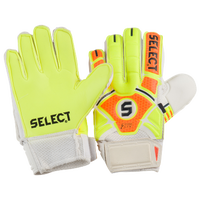 Select 03 Guard Goalie Gloves - Grade School - Yellow / Orange