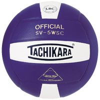 Tachikara SV-5WSC Volleyball - Purple / White