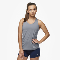 Eastbay Racerback Tank - Women's - Grey / Grey