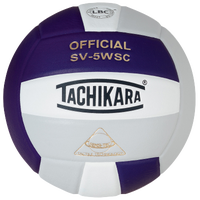 Tachikara SV-5WSC Volleyball - White / Purple