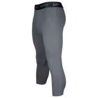 Eastbay EVAPOR Premium 3/4 Compression Tights - Men's - Grey