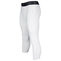 Eastbay EVAPOR Premium 3/4 Compression Tights - Men's - White