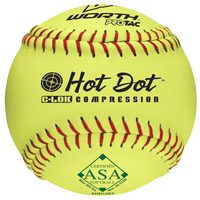 Worth AHD12SY Hot Dot Yellow Softball