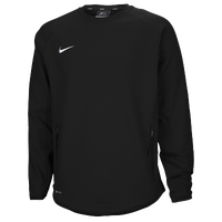 Nike Team Hybrid BP Crew - Men's - Black / Black