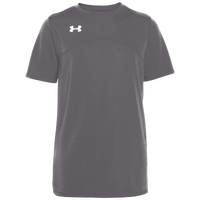 Under Armour Team Golazo Jersey - Boys' Grade School - Grey / Grey