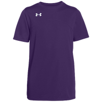 Under Armour Team Golazo Jersey - Boys' Grade School - Purple / Purple