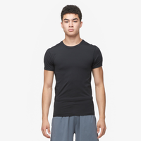 Eastbay EVAPOR Premium S/S Compression T-Shirt - Men's - All Black / Black