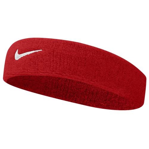 nike swoosh headband basketball accessories red white. Black Bedroom Furniture Sets. Home Design Ideas