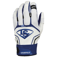Louisville Slugger Prime Batting Gloves - Men's - Blue / White