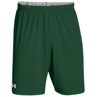 Under Armour Team Raid Shorts - Men's - Dark Green / Dark Green