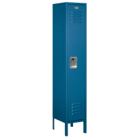 Salsbury Unassembled Single Tier Standard Locker - Blue / Blue