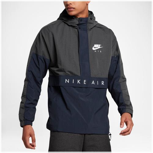 navy blue mens baseball  nike lifestyle hoodie