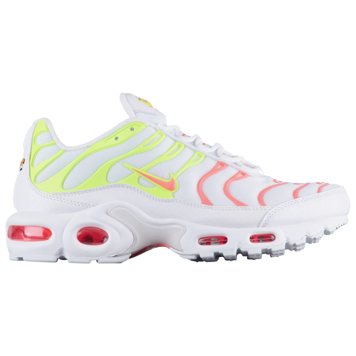 91ec25074d ... promo code for nike air max plus womens casual shoes white hot punch  volt total orange ...
