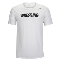 Nike Wrestling Tee - Men's - White / Black