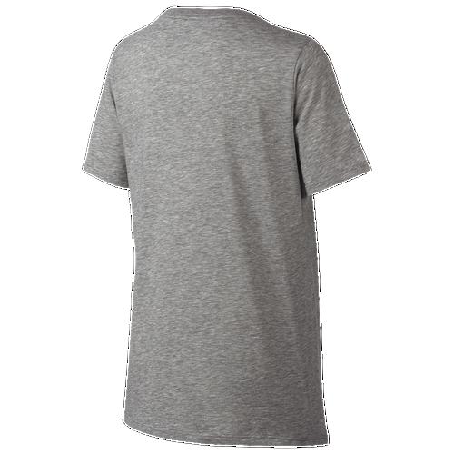 Nike KD Graphic Dri-FIT T-Shirt - Boys' Grade School - Basketball - Clothing  - Kevin Durant - Dark Grey Heather/Black