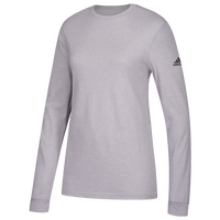 adidas Team Go To Performance L/S T-Shirt - Women's - Grey / Grey