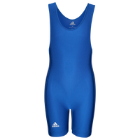 adidas Youth 3 Stripe Singlet - Boys' Grade School - Blue