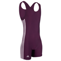 adidas aS102s Singlet - Men's - Maroon / White