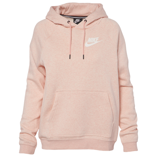 Nike Rally Hoodie - Women's - Casual - Clothing - Storm Pink