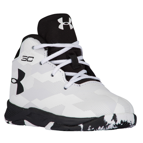 72c51ad162a5 outlet Under Armour Curry 2.5 Boys Toddler Basketball Shoes Stephen Curry  White Black