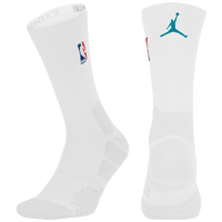 Jordan NBA Elite Quick Crew - NBA League Gear - White / Aqua