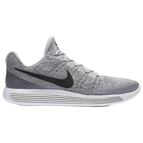 Nike LunarEpic Low Flyknit 2 - Men's - Running - Shoes - Wolf  Grey/Black/Cool Grey/Pure Platinum